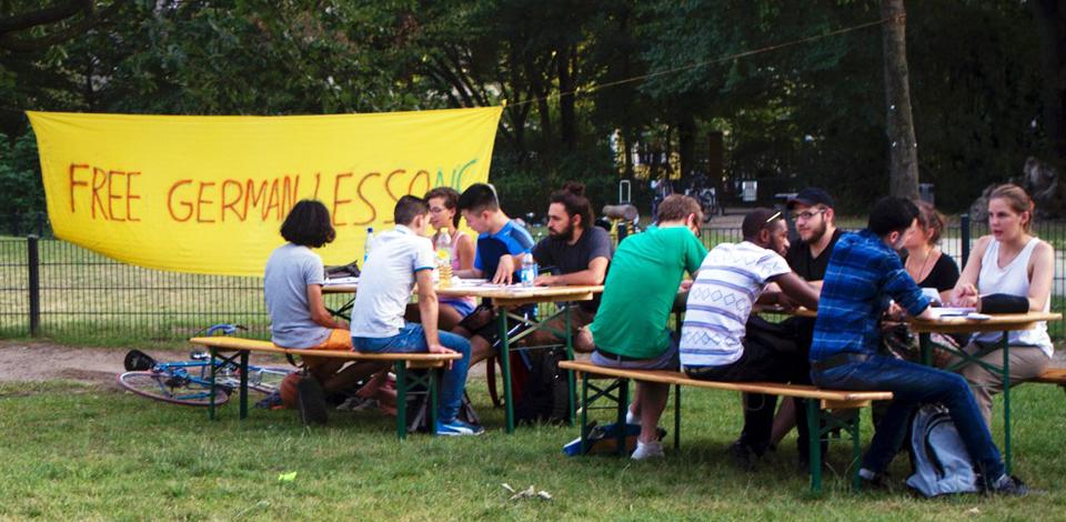Lecture in Görlitzer Park